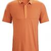 Arc'teryx A2B Polo Shirt SS Men's, Subliminal