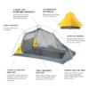 NEMO Hornet™ Elite Backpacking Tent, Details