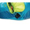 NEMO Tempo™ Men's Synthetic Sleeping Bag, Spring Bud/Mayan Blue, Zippered Pocket Stash