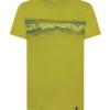La Sportiva Landscape T-Shirt Men's, Kiwi, Front View