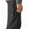 Arc'teryx Creston AR Pant Men's, Carbon Copy, Thigh Pocket