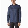 Arc'teryx Lattis Shirt LS Men's, Exosphere, Front View