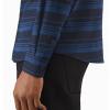 Arc'teryx Mainstay Shirt LS Men's, Microcosm:Kingfisher, Cuff