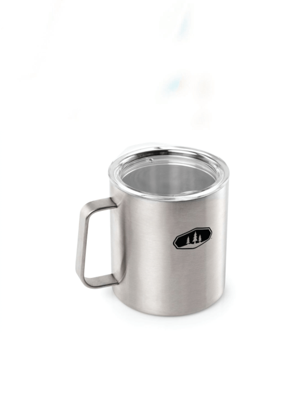 GSI Outdoors Glacier Stainless 15 fl. oz. Camp Cup, Stainless