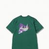 and wander Knife Ridge SS T-Shirt Men's, Green, Back View