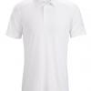 Arc'teryx Eris Polo Shirt Men's, White