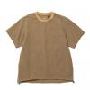 NANGA Air Cloth Tee, Camel