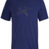 Arc'teryx Cormac Logo Shirt SS Men's, Hubble