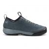 Arc'teryx Acrux SL Leather Approach Shoe Men's, Neptune/Everglade, Side View