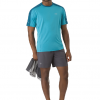 Arc'teryx Motus Comp Shirt SS Men's, Firoza, Front View