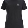 Arc'teryx A Squared T-Shirt Women's, Black Heather