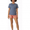Arc'teryx A Squared T-Shirt Women's, Stratosphere, Full View copy
