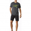 Arc'teryx Archaeopteryx T-Shirt SS Men's, Pilot Heather, Full View