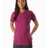 Arc'teryx Bird Emblem T-Shirt Women's, Dakini, Front View