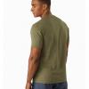 Arc'teryx Kadem Henley SS Shirt Men's, Arbour, Back View