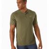 Arc'teryx Kadem Henley SS Shirt Men's, Arbour, Front View