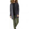 Arc'teryx Laina Cardigan Women's, Carbon Copy Heather, Outfit 2