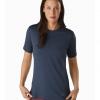 Arc'teryx Remige Shirt SS Women's, Cobalt Moon, Front View