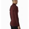 Arc'teryx Satoro AR Zip Neck Shirt LS Men's, Flux, Back View