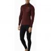 Arc'teryx Satoro AR Zip Neck Shirt LS Men's, Flux, Full Body