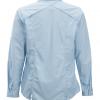 ExOfficio BugsAway Zeta Stripe LS Shirt Women's, Chambray, Back View