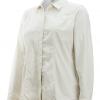 ExOfficio BugsAway Zeta Stripe LS Shirt Women's, Lt Khaki, Angle View