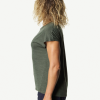 Houdini Activist Tee Women's, Willow Green, Side View