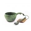 Kupilka 21 Classic Cup and Teaspoon, Conifer