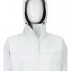 Marmot Minimalist Jacket Women's, Bright Steel, Front View Hood Up