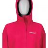 Marmot Minimalist Jacket Women's, Disco Pink, Front View Hood Up