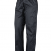 Marmot PreCip Eco Full Zip Pant Women's, Black, Side View