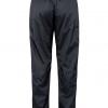 Marmot PreCip Eco Full Zip Pant Women's, Black, Back View
