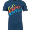 La Sportiva Squared T-Shirt Men's, Opal, Front View