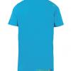 La Sportiva Squared T-Shirt, Tropic Blue:Apple Green, Back View