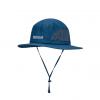 Marmot Simpson Mesh Sun Hat, Vintage Navy, Side View