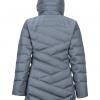 Marmot Strollbridge Jacket Women's, Steel Onyx, Back View