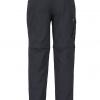 Marmot Transcent Convertible Pants Men's, Black, Back View