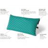 NEMO Fillo Elite Luxury Backpacking Pillow, Sapphire Stripe, Details