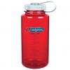 Nalgene 1L, Outdoor Red Bottle with Iridescent Cap