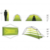 Nemo Hornet UL Backpacking Tent, 2 Person, Sizing