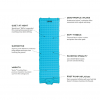 Nemo Vector Ultralight Sleeping Pad, Non Insulated, Regular, Top View with Details