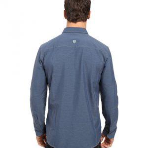 Renegade Long Sleeve Shirt – Pirate Blue B