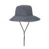 ExOfficio Sol Cool Adventure Hat, Carbon, Front View