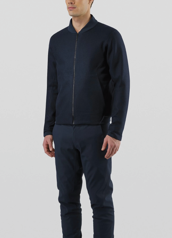 Arc'teryx Veilance Haedn Jacket Men's, Dark Navy Heather